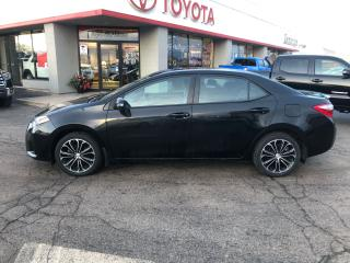 Used 2016 Toyota Corolla TOYOTA COROLLA S HEATED SEATS REVERSE PARKING CAMERA for sale in Cambridge, ON