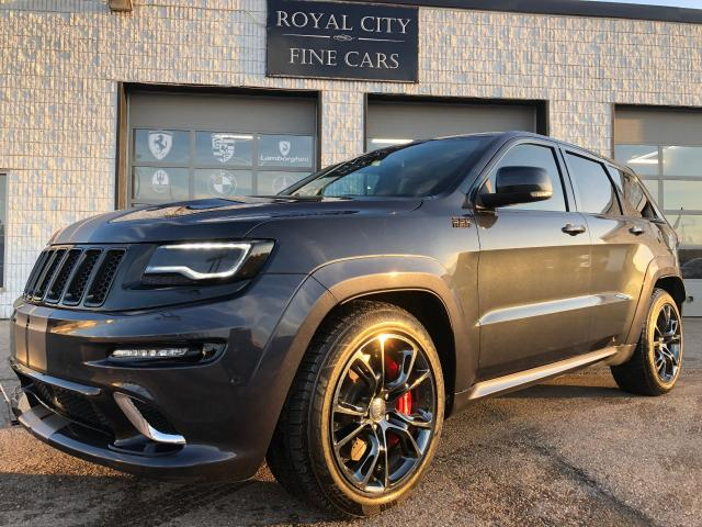 2014 Jeep Grand Cherokee SRT8 RARE STRIPES NO ACCIDENTS 2sets of Wheels!!