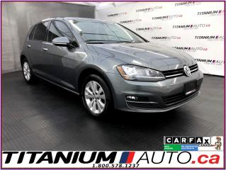 Used 2016 Volkswagen Golf Comfortline+GPS+Camera+Sunroof+Leather+Blind Spot+ for sale in London, ON