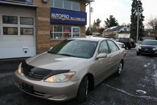 Used 2004 Toyota Camry LE w/WINTER TIRE for sale in Nepean, ON