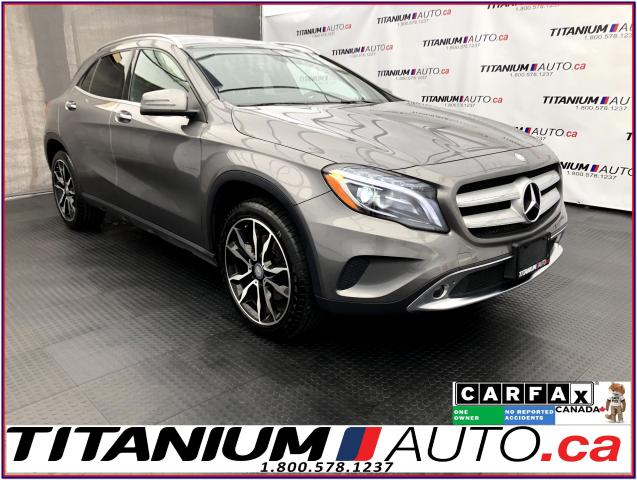 2016 Mercedes-Benz GLA 4Matic+Sport+GPS+Camera+Pano Roof+Blind Spot+Fog L