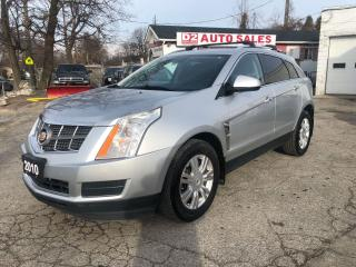 Used 2010 Cadillac SRX 1 Owner/Accident Free/Comes Certified/AWD for sale in Scarborough, ON