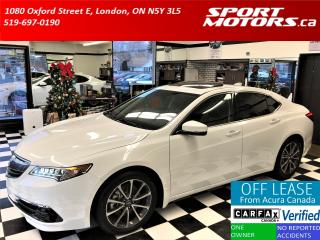 Used 2015 Acura TLX V6 Tech SH-AWD+Blind Spot+Lane Assist for sale in London, ON
