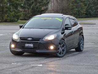 Used 2012 Ford Focus TITANIUM,LEATHER,NAV,REAR-CAM,RACING RIMS,2-TONE for sale in Mississauga, ON