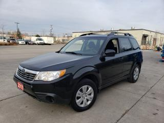 Used 2010 Subaru Forester AWD, 4 door, Low km, 3/Y Warranty availabl for sale in Toronto, ON