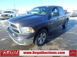 Used 2017 RAM 1500 SLT Crew Cab SWB 4WD 5.7L for sale in Calgary, AB