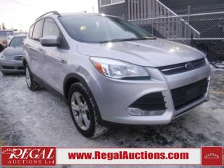 Used 2015 Ford Escape SE 4D Utility 4WD for sale in Calgary, AB