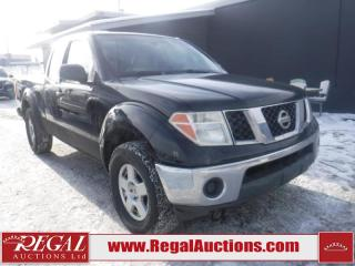 Used 2005 Nissan FRONTIER SE 2D EXTENDED CAB  4WD for sale in Calgary, AB