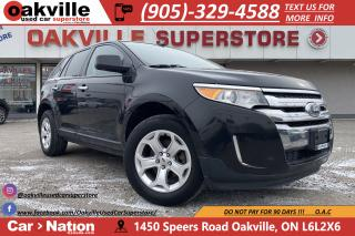 Used 2011 Ford Edge SEL AWD | PANO ROOF | LEATHER | HTD SEATS for sale in Oakville, ON