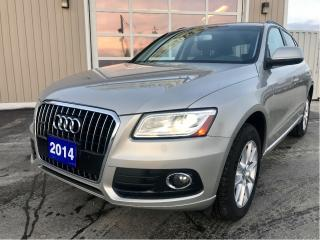 Used 2014 Audi Q5 2.0 Progressiv for sale in Tilbury, ON