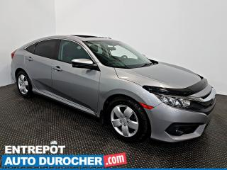 Used 2016 Honda Civic Sedan EX-T TOIT OUVRANT - AIR CLIMATISÉ -Caméra de Recul for sale in Laval, QC