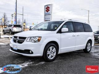 Used 2018 Dodge Grand Caravan Crew Plus ~Nav ~Backup Cam ~Heated Leather Seats for sale in Barrie, ON