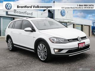 Used 2018 Volkswagen Golf Alltrack 1.8T DSG 6sp at w/Tip 4MOTION for sale in Brantford, ON