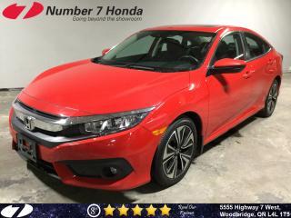 Used 2017 Honda Civic EX-T| Auto-Start| Sunroof| Backup Cam| for sale in Woodbridge, ON