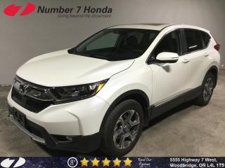 Used 2017 Honda CR-V EX| Auto-Start| Sunroof| All-Wheel Drive| for sale in Woodbridge, ON