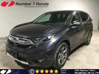 Used 2018 Honda CR-V EX-L  Leather  Auto-Start  All-Wheel Drive  for sale in Woodbridge, ON