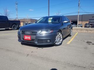 Used 2010 Audi A4 4dr Avant Wgn Auto quattro 2.0T Premium  Plus (No accidents) for sale in Scarborough, ON