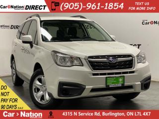 Used 2017 Subaru Forester 2.5i| AWD| BACK UP CAMERA| HEATED SEATS| for sale in Burlington, ON