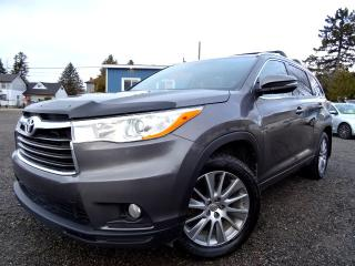 Used 2015 Toyota Highlander XLE AWD V6 | NAVI | ROOF | BACK-UP CAMERA | CERTIFIED for sale in Guelph, ON