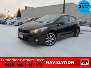 Used 2017 Kia Forte SX  NAV LEATH ROOF REAR-CAM BS HS AUTO for sale in St. Catharines, ON
