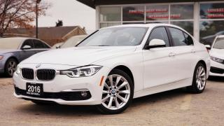 Used 2016 BMW 3 Series 328i xDrive Sedan | NAVI | SUNROOF | HEADS-UP DISPLAY | FULLY LOADED for sale in Mississauga, ON