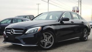 Used 2017 Mercedes-Benz C-Class C300 4MATIC | NAVI | PANO-ROOF | CARFAX CLEAN for sale in Mississauga, ON