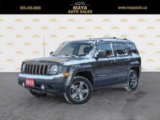 Used 2015 Jeep Patriot High Altitude  4WD 4x4, leather, sunroof for sale in Brampton, ON