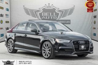Used 2016 Audi A3 2.0T Progressiv, S-LINE, NO ACCIDENT, AWD, NAVI, SUNROOF for sale in Toronto, ON