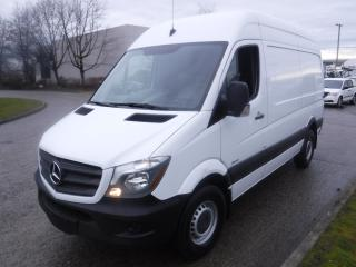 Used 2016 Mercedes-Benz Sprinter 2500 High Roof Cargo Van 144-in. WB Diesel 3 passenger for sale in Burnaby, BC