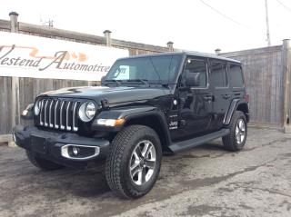 Used 2019 Jeep Wrangler Unlimited Sahara   Leather , Nav, Loaded for sale in Stittsville, ON