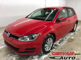Used 2015 Volkswagen Golf Trendline Tsi Mags Sièges Chauffants Bluetooth *Bas Kilométrage* for sale in Trois-Rivières, QC