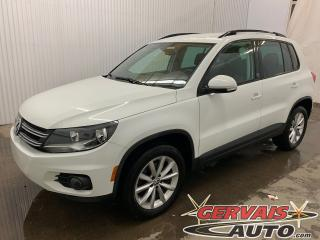 Used 2017 Volkswagen Tiguan Wolfsburg 4Motion AWD Cuir Caméra MAGS Bluetooth for sale in Trois-Rivières, QC