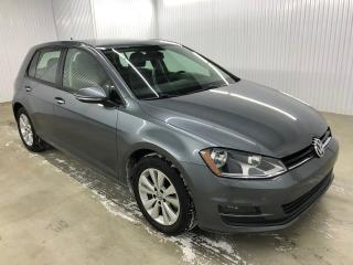 Used 2015 Volkswagen Golf Comfortline Tsi Cuir Caméra de recul MAGS for sale in Trois-Rivières, QC