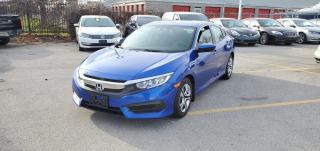 Used 2017 Honda Civic Sedan 4dr CVT LX for sale in Burlington, ON