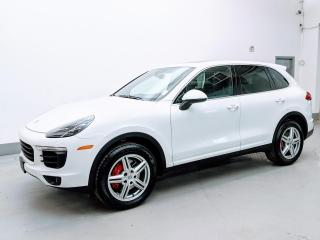 Used 2016 Porsche Cayenne DIESEL/PREMIUM PLUS PKG/VENTILATED SEATS/PANO/BACK-UP CAM! for sale in Toronto, ON