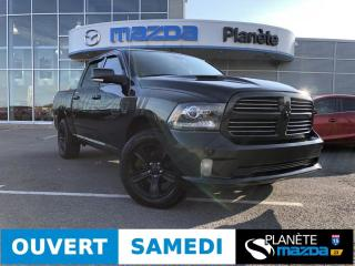Used 2017 RAM 1500 4WD Crew Cab Sport HEMI 57L CUIR TOIT NAV HITCH D for sale in Mascouche, QC