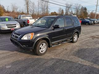Used 2004 Honda CR-V EX-L for sale in Madoc, ON