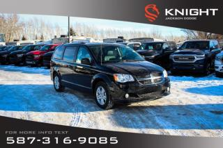 New 2019 Dodge Grand Caravan Crew Plus | Navigation | DVD | Remote Start for sale in Medicine Hat, AB