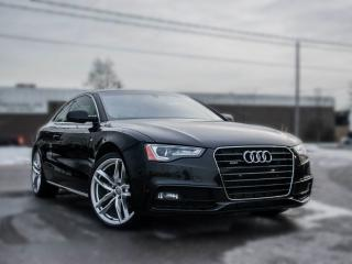 Used 2015 Audi A5 Technik l Sline I Quattro I  NAV IPanoroof I for sale in Toronto, ON
