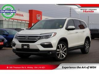 Used 2017 Honda Pilot 4WD 4dr Touring for sale in Whitby, ON
