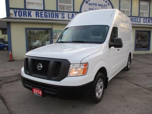 2014 Nissan NV 2500 Cargo 3/4 TON CARGO MOVING 2 PASSENGER 4.0L - V6.. SLIDING DOOR.. LEATHER TRIM.. CD/AUX INPUT.. MIDDLE DIVIDER.. AIR CONDITIONING..