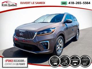 Used 2019 Kia Sorento SXL* GPS* TOIT PANO* CUIR* LIQUIDATION* for sale in Québec, QC