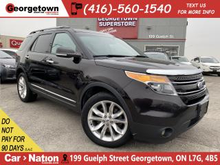 Used 2013 Ford Explorer Limited 4WD| LEATHER| NAVI| ROOF|BU CAM|7 PASS|B/T for sale in Georgetown, ON