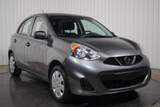 Used 2017 Nissan Micra S for sale in St-Hubert, QC