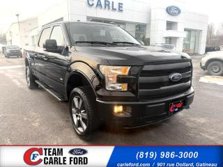 Used 2016 Ford F-150 Ford F-150 S/Crew Lariat 2016, Cuir, toi for sale in Gatineau, QC