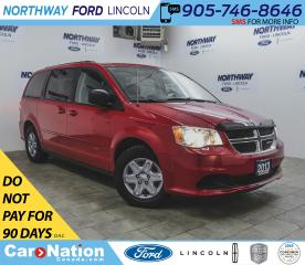 Used 2013 Dodge Grand Caravan SXT | TOUCHSCREEN | 2-ROW STO N GO | REAR CLIMATE for sale in Brantford, ON