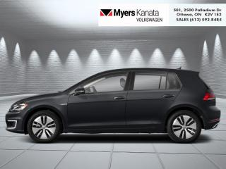 New 2020 Volkswagen Golf e-Golf Comfortline  - 201 km Range for sale in Kanata, ON