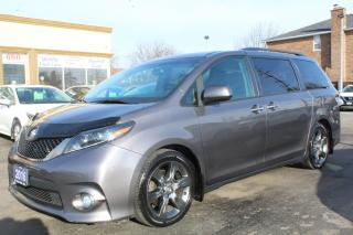 Used 2016 Toyota Sienna SE LEATHER SUNROOF 8 PASSENGER for sale in Brampton, ON