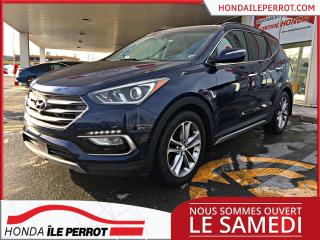 Used 2017 Hyundai Santa Fe Sport Ultimate AWD CUIR TOIT OUVRANT PANORAMIQUE for sale in Île-Perrot, QC