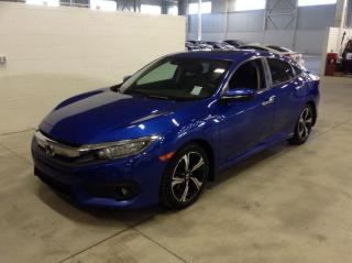Used 2016 Honda Civic Touring + cuir + toit + jantes for sale in Longueuil, QC